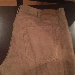 Men's Corduroy Jeans 36x32